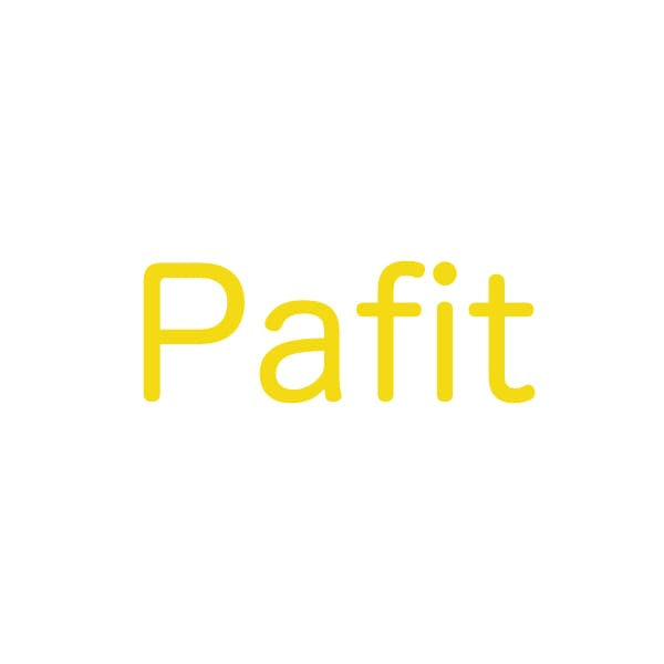 Pafitのロゴ正方形
